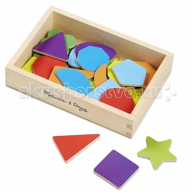 Деревянная игрушка Melissa & Doug Магнитные игры Формы и цвета