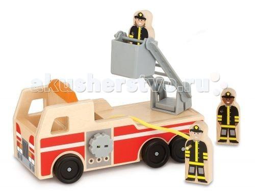 Деревянная игрушка Melissa & Doug Пожарная машина