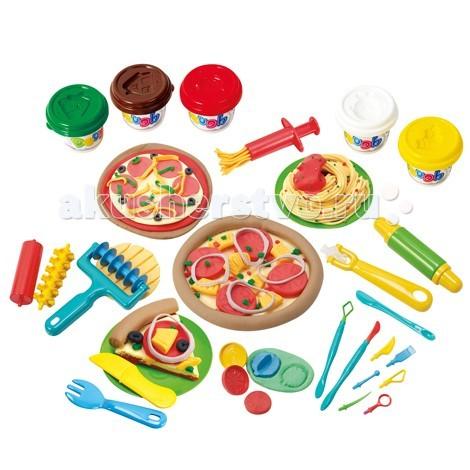 Всё для лепки Playgo Набор Моя пиццерия ролевые игры playgo игровой набор для приготовления хот догов делюкс