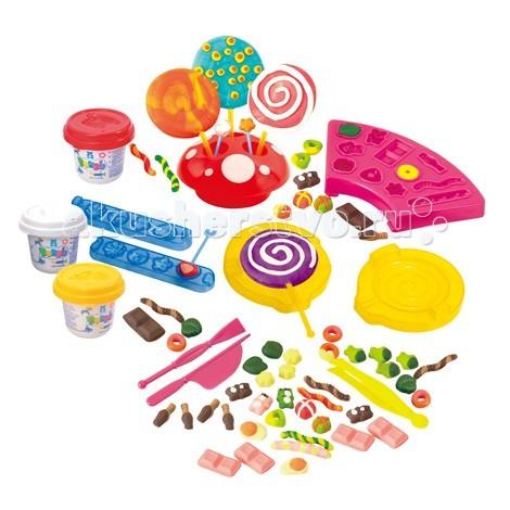 Всё для лепки Playgo Набор Сладости всё для лепки playgo набор 8636