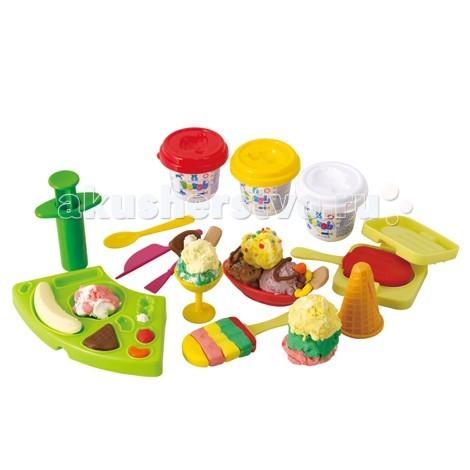 Всё для лепки Playgo Набор Мороженое набор для ванной playgo утята 2430