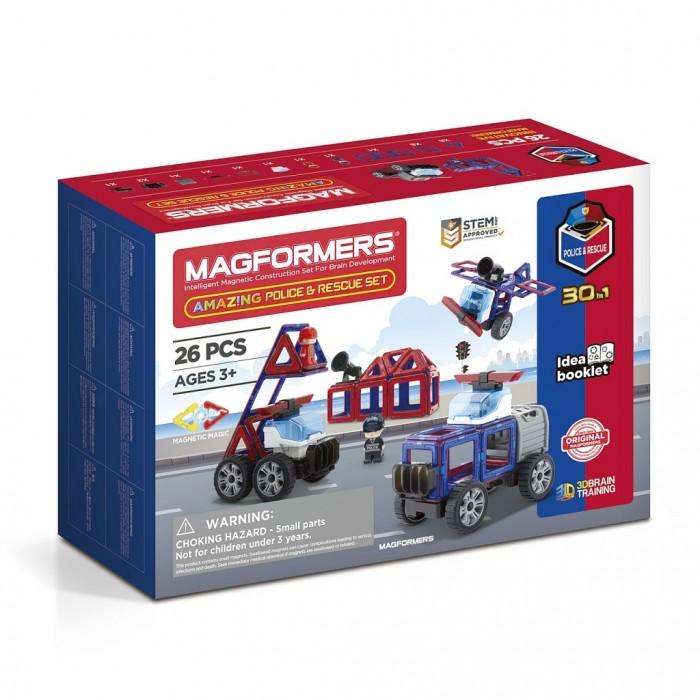 Купить Конструкторы, Конструктор Magformers Магнитный Amazing Police & Rescue Set