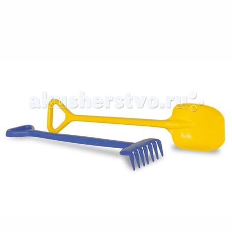 Игрушки в песочницу Unice Песочный набор лопата+грабли песочный набор технок 6 ведро мельница формочки лопата грабли сито в асс те 113