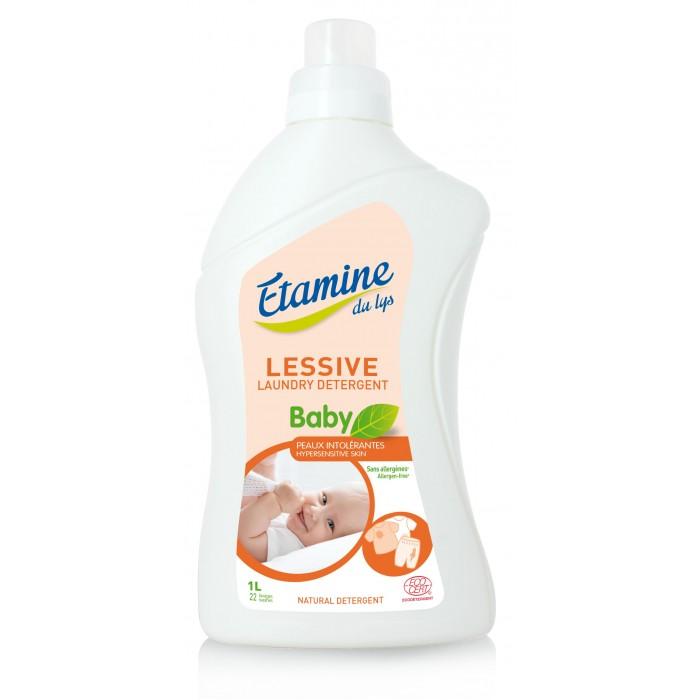 Детские моющие средства Etamine Du Lys Жидкое средство для стирки детского белья гипоаллергенное 1 л недорого