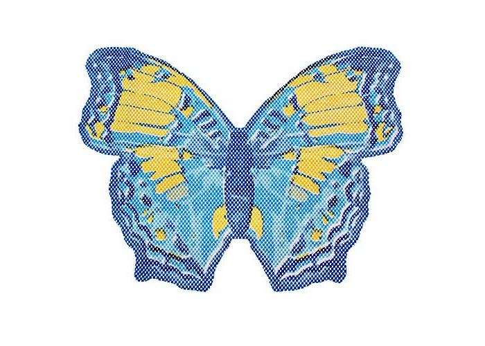 Купить Вилина Коврик для ванны Бабочка 65х47 см в интернет магазине. Цены, фото, описания, характеристики, отзывы, обзоры