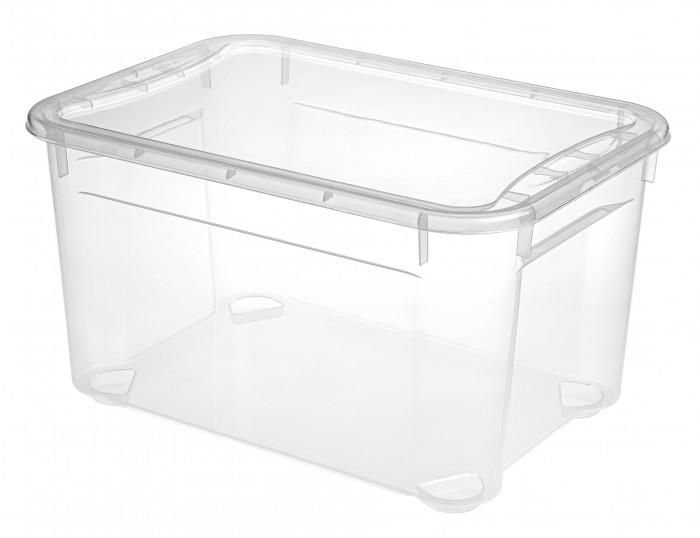Ящики для игрушек Эконова Ящик универсальный Кристалл XS Plus 16 л 389х275х215 мм ящики для игрушек эконова ящик универсальный с аппликацией 9 л 400х335х85 мм