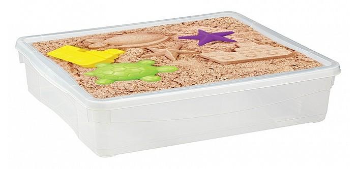 Ящики для игрушек Эконова Ящик универсальный с аппликацией 9 л 400х335х85 мм ящики для игрушек tomjerry ящик универсальный с аппликацией 33 5x24x15 5 см
