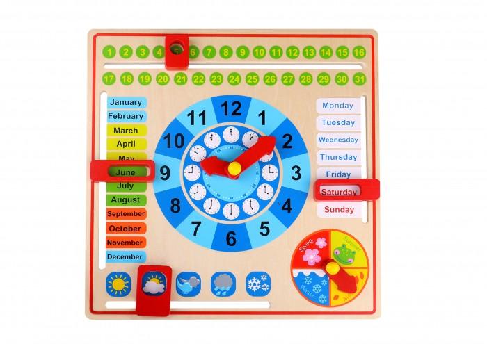 Деревянная игрушка Tooky Toy Набор Мой календарь