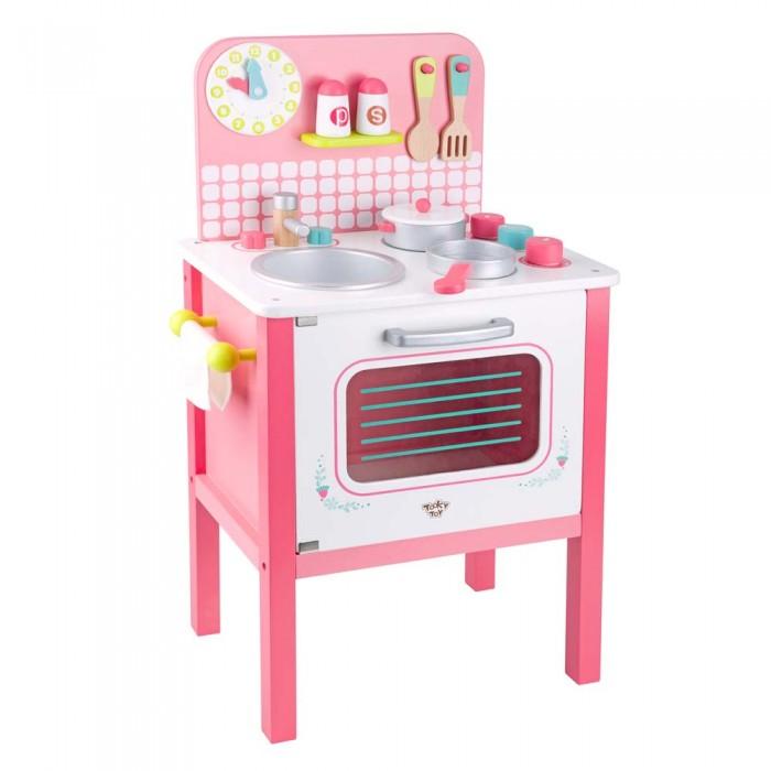 Купить Ролевые игры, Tooky Toy Набор для девочек Кухонная плита TL056