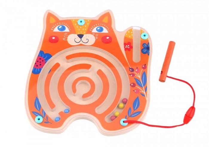 Деревянные игрушки Tooky Toy Лабиринт Кошка