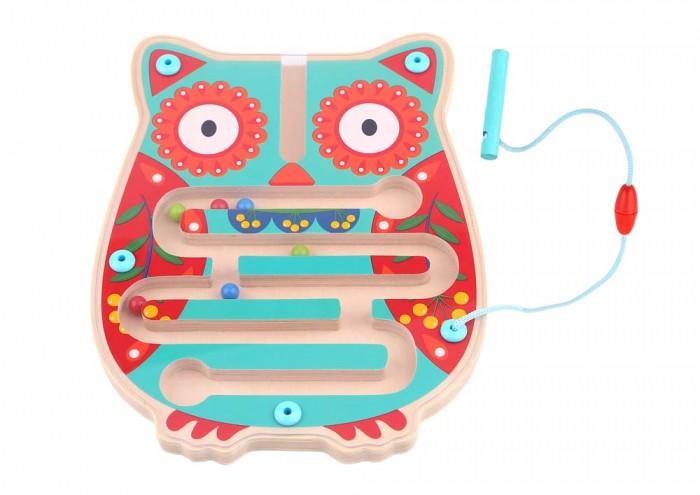 Деревянные игрушки Tooky Toy Лабиринт Сова