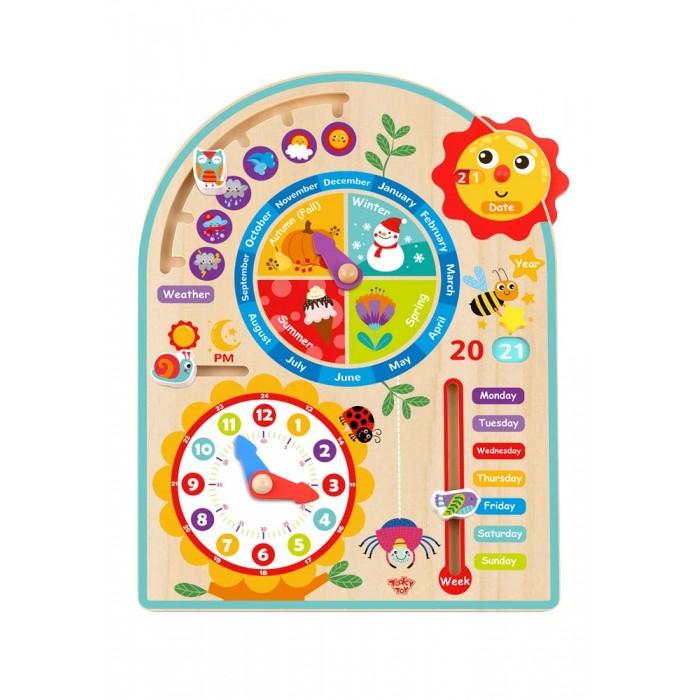 Деревянная игрушка Tooky Toy Набор Мой календарь TL083