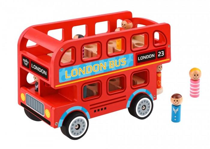 Деревянная игрушка Tooky Toy Лондонский автобус