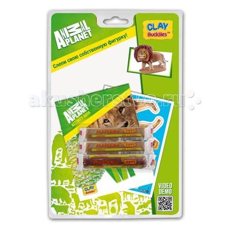 Всё для лепки Giromax Набор для лепки Планета животных на блистере наборы для лепки sentosphere набор для творчества текстурный пластилин серия патабул