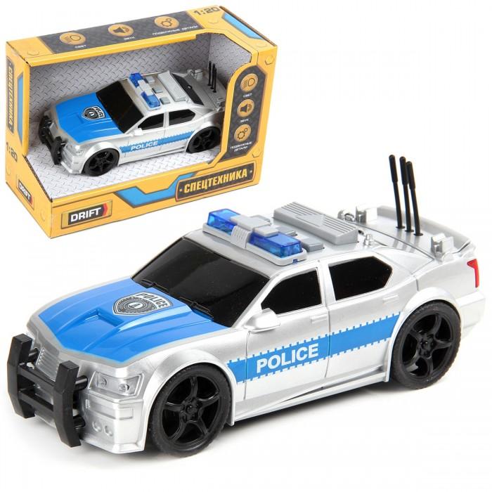 Машины Drift Полицейская машина Silver Edition 1:20 машины drift машина с подъемным краном