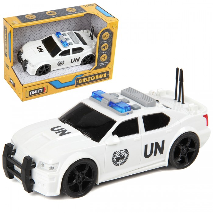 Машины Drift Полицейская машина White Edition 1:20