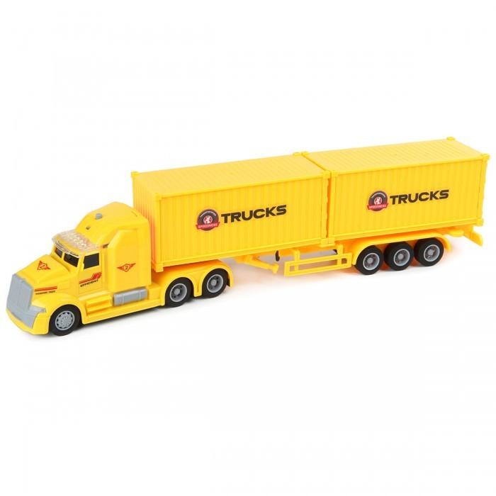 Машины Drift Грузовик-контейнеровоз International Container Truck 1:50