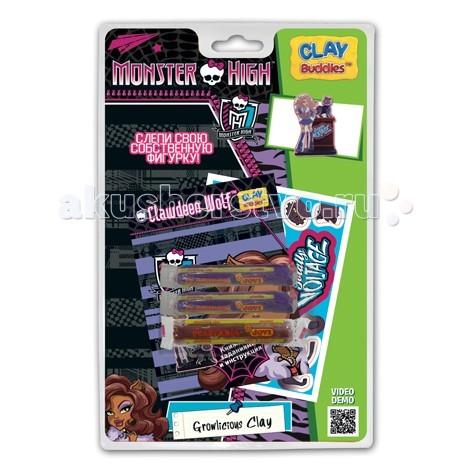 Всё для лепки Giromax Набор для лепки Школа Монстров на блистере наборы для лепки sentosphere набор для творчества текстурный пластилин серия патабул