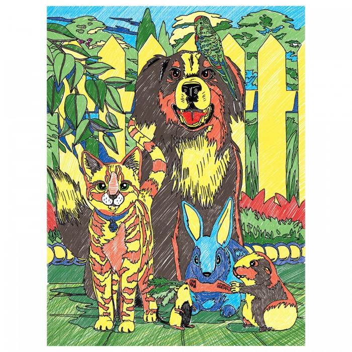 Купить Раскраска Юнландия по номерам Зверята с цветными карандашами в интернет магазине. Цены, фото, описания, характеристики, отзывы, обзоры