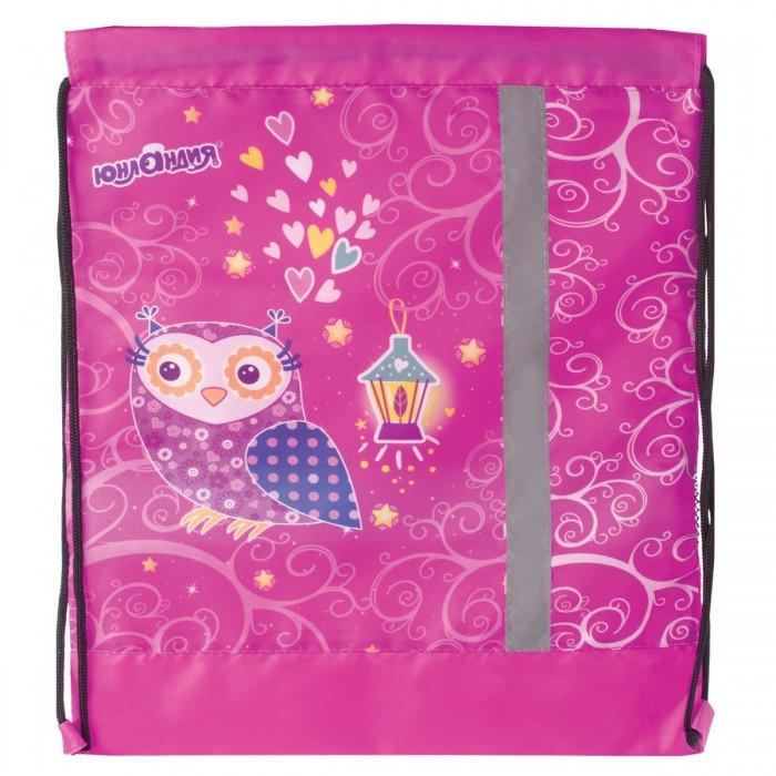 Мешки для обуви Юнландия Сумка для обуви Совы сумка рюкзак для обуви единорог 43 х 38 см joy цвет розовый