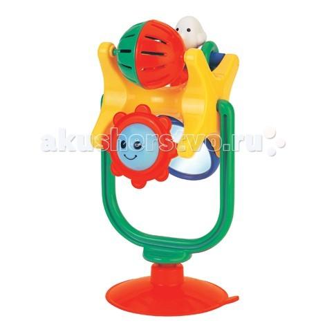 kiddieland развивающая игрушка осьминог на присоске 038190 Развивающие игрушки Kiddieland Забавное вращение на присоске