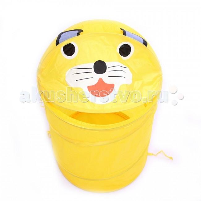 Ящики для игрушек Li Hsen Корзина для игрушек Котик корзина для игрушек медвежонок