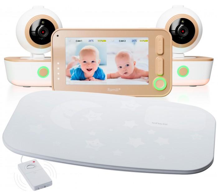 Ramili Видеоняня с двумя камерами и монитором дыхания Baby RV1300X2SP от Ramili