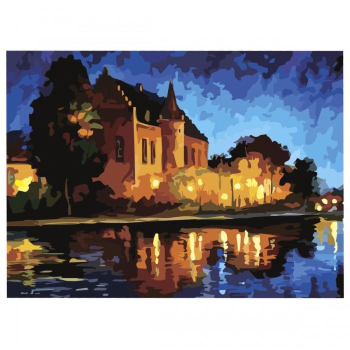 Картины по номерам Остров Сокровищ Картина Поместье с акриловыми красками