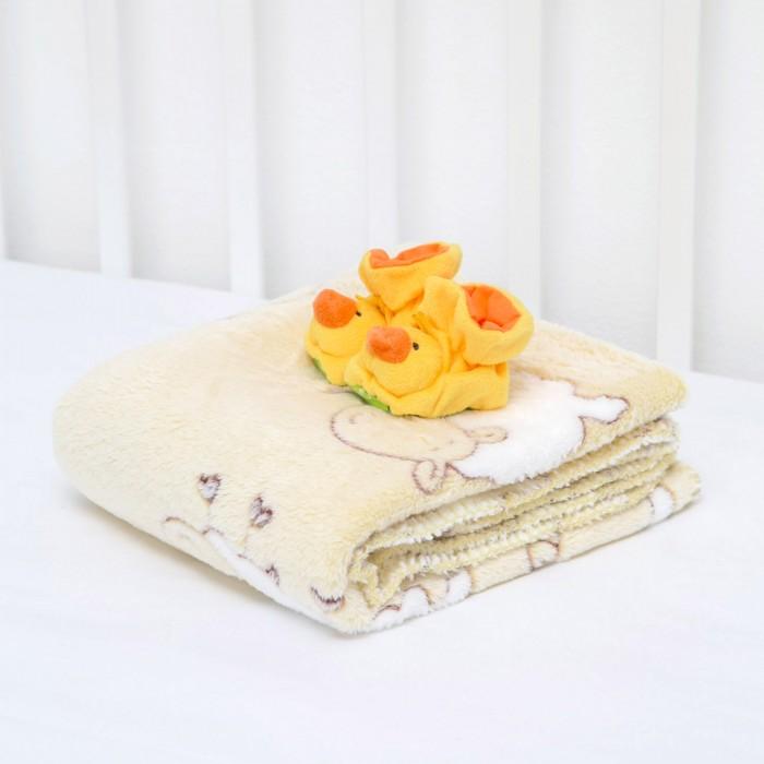 Купить Плед Baby Nice (ОТК) Velsoft Барашки 100х118 + пинетки в интернет магазине. Цены, фото, описания, характеристики, отзывы, обзоры