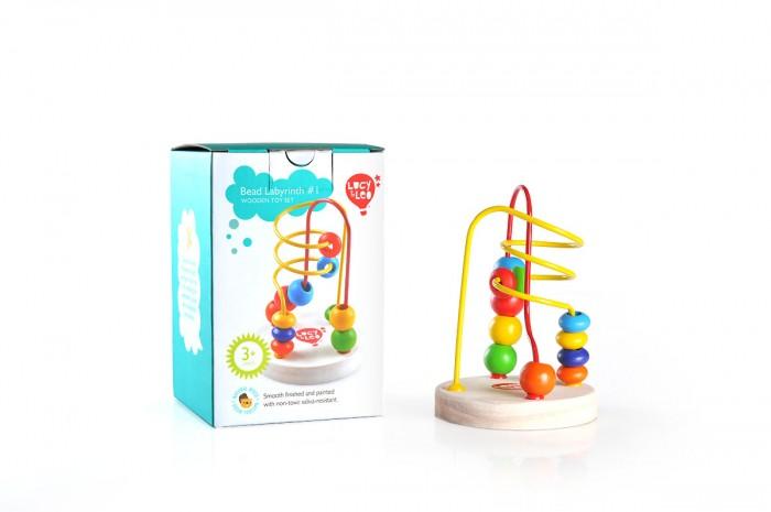 Деревянные игрушки Lucy Leo Лабиринт 1 деревянные игрушки lucy leo магический треугольник