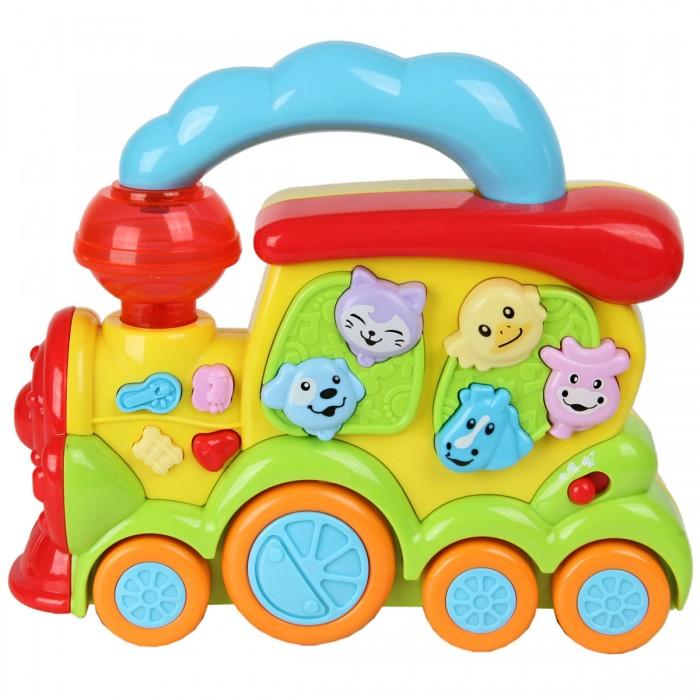 Картинка для Развивающие игрушки Veld CO Паровозик со светом и звуком