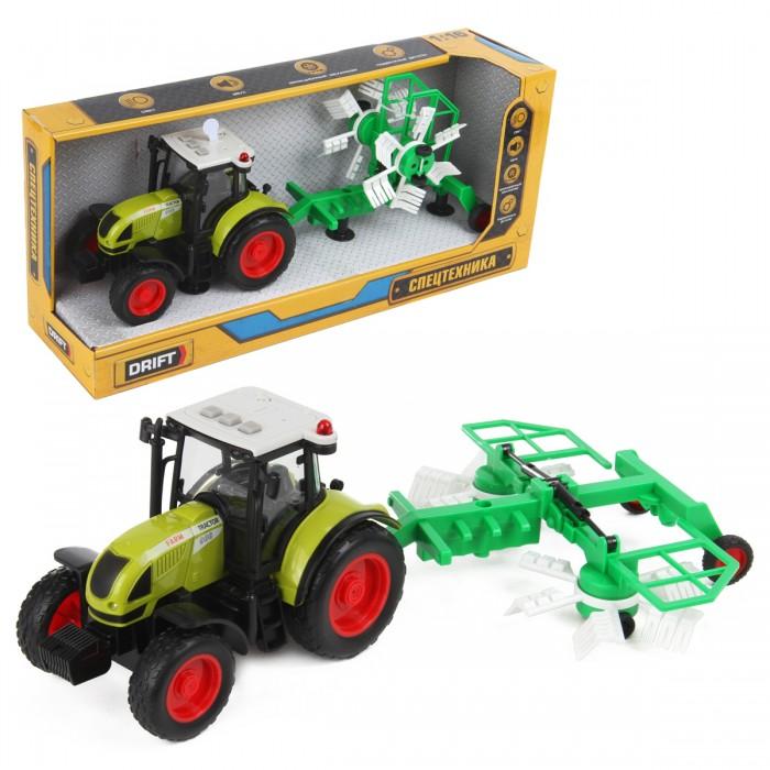 Машины Drift Трактор с валкообразователем Farmland 1:16