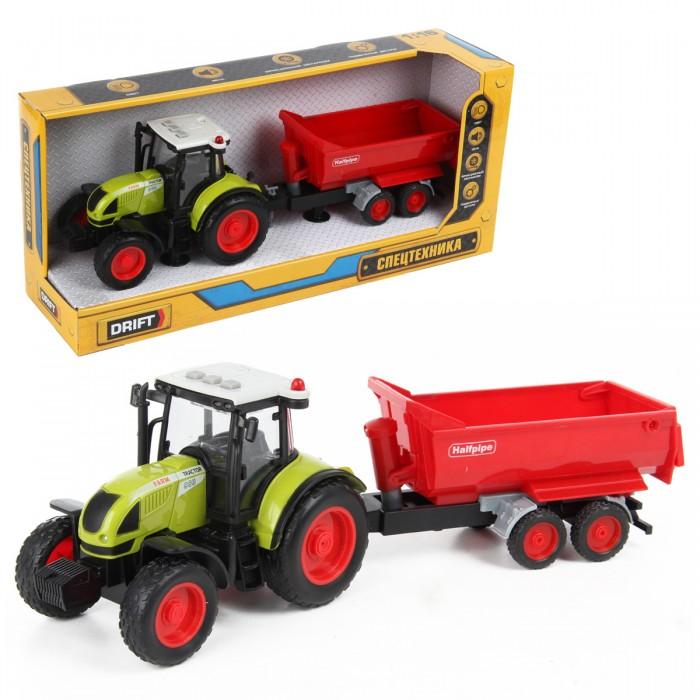 Машины Drift Трактор с прицепом Farmland 1:16