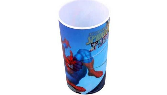 Посуда Марвел (Marvel) Стакан пластиковый Spider-Man