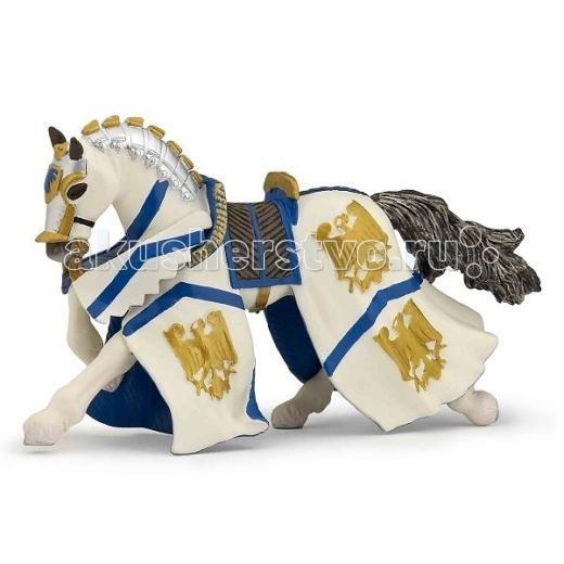Игровые фигурки Papo Игровая реалистичная фигурка Конь рыцаря Вильяма орчи э клятва рыцаря