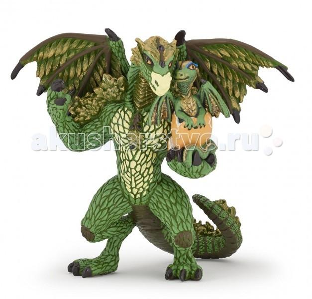 Игровые фигурки Papo Игровая реалистичная фигурка Лесной дракон