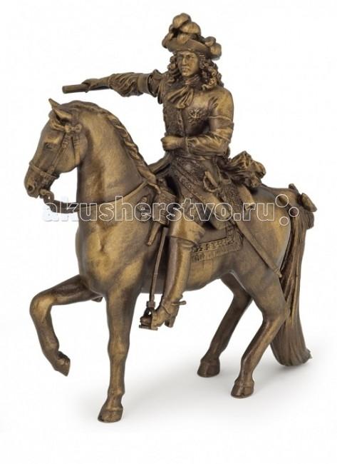Игровые фигурки Papo Игровая реалистичная фигурка Людовик XIV на коне игровые фигурки papo игровая реалистичная фигурка людовик xiv на коне
