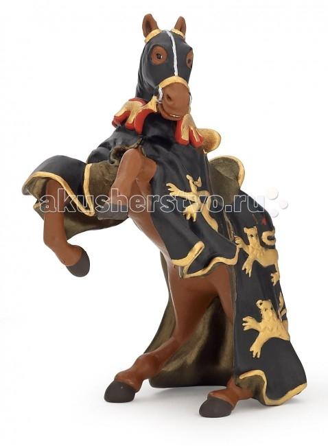 Игровые фигурки Papo Игровая реалистичная фигурка Лошадь короля Ричарда с копьем