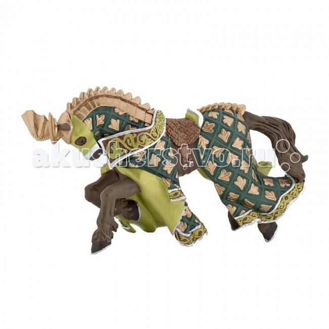 Игровые фигурки Papo Игровая реалистичная фигурка Конь рыцаря дракона