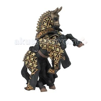 Игровые фигурки Papo Игровая реалистичная фигурка Конь рыцаря быка