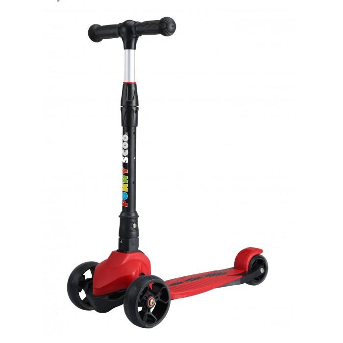 Купить Трехколесный самокат Funny Scoo MS-925 Neo складной со светящимися колесами в интернет магазине. Цены, фото, описания, характеристики, отзывы, обзоры