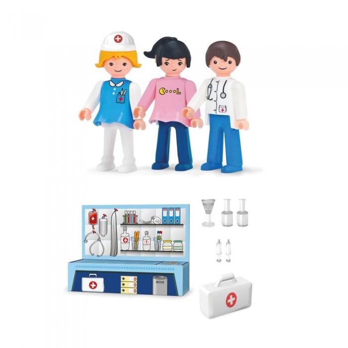 Игровые наборы Efko Игровой набор Доктор медсестра пациент аксессуары