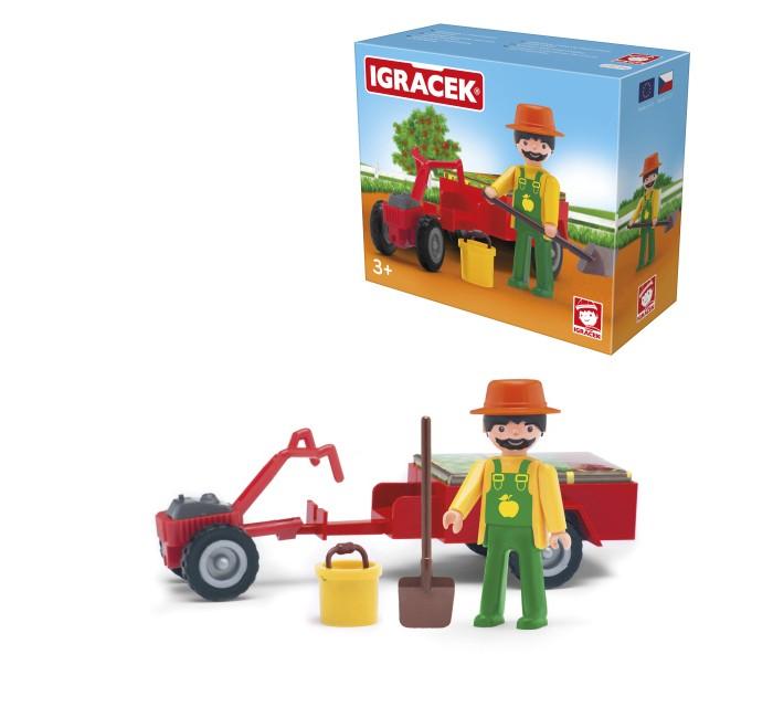 Фото - Игровые наборы Efko Игровой набор Фермер с аксессуарами playmobil игровой набор фермер с домашними животными