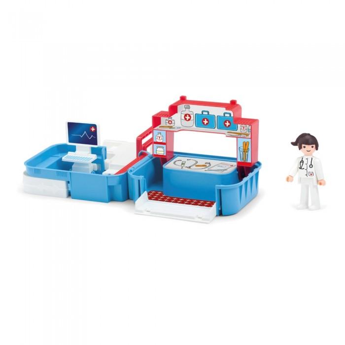 Игровые наборы Efko Раскладывающийся игровой набор Больница с медсестрой и аксессуарами