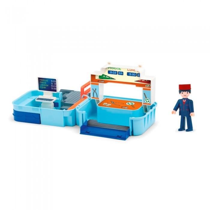 Efko Раскладывающийся игровой набор Диспетчерская с аксессуарами и фигуркой