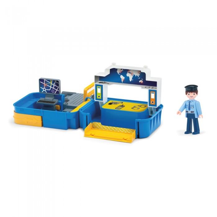 Фото - Игровые наборы Efko Раскладывающийся игровой набор Полиция с фигуркой полицейского и аксессуарами игровые наборы lil woodzeez набор игровой семья коал