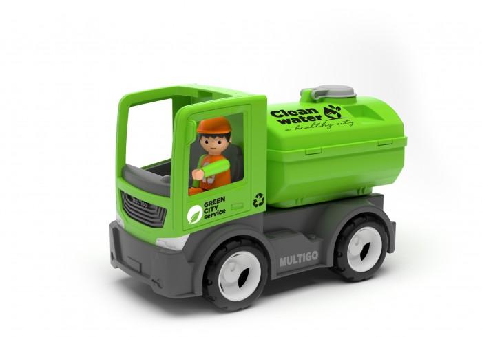 Машины Efko Городской грузовик с цистерной и водителем