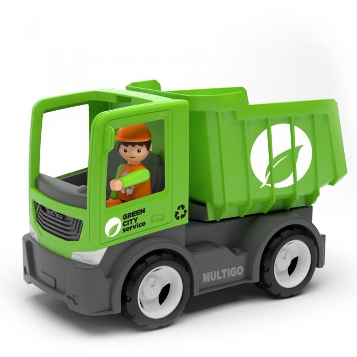Машины Efko Городской грузовик самосвал с водителем