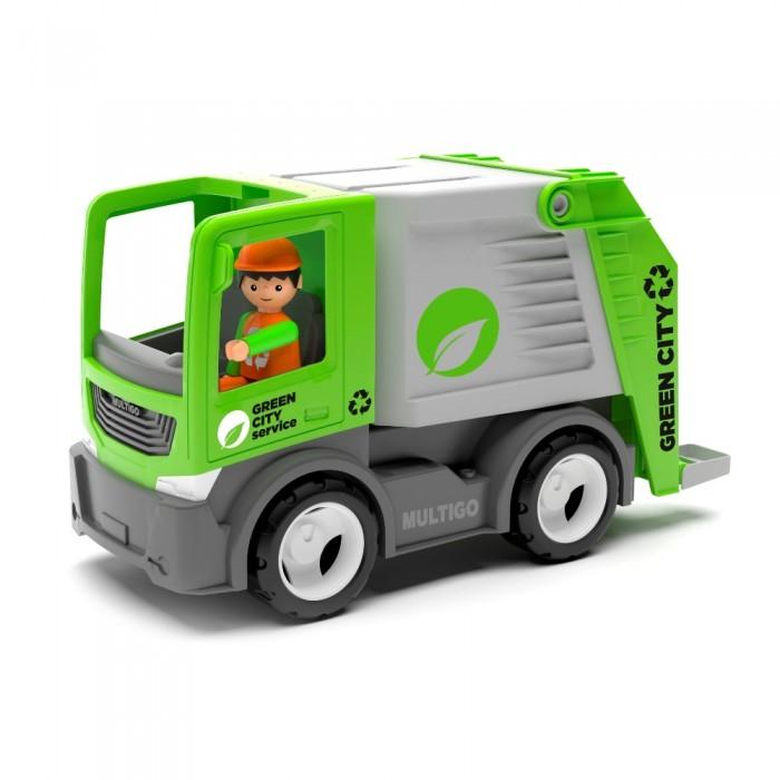 Машины Efko Городской мусоровоз с водителем