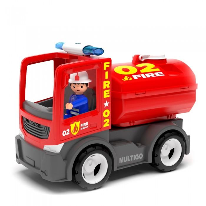 Машины Efko Пожарный грузовик с цистерной и водителем